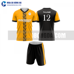 Áo bóng đá màu cam thiết kế đẹp tại TP HCM MABD32