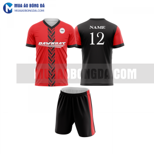 Áo bóng đá màu đỏ thiết kế đẹp tại TP HCM MABD32