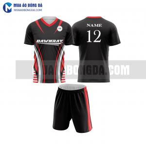 Áo bóng đá màu đỏ thiết kế đẹp tại bắc giang MABD4