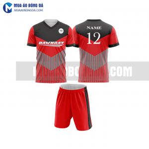 Áo bóng đá màu đỏ thiết kế đẹp tại bạc liêu MABD27