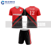 Áo bóng đá màu đỏ thiết kế đẹp tại bắc ninh MABD7