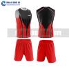 Áo bóng đá màu đỏ thiết kế đẹp tại cần thơ MABD39