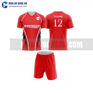 Áo bóng đá màu đỏ thiết kế đẹp tại đà nẵng MABD13