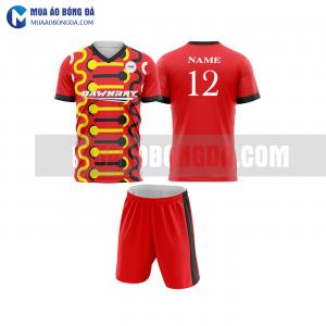 Áo bóng đá màu đỏ thiết kế đẹp tại hà giang MABD28