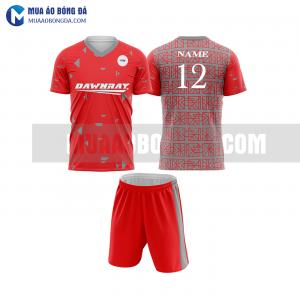 Áo bóng đá màu đỏ thiết kế đẹp tại hà nội MABD11