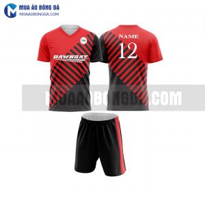 Áo bóng đá màu đỏ thiết kế đẹp tại hưng yên MABD17