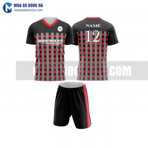 Áo bóng đá màu đỏ thiết kế đẹp tại hưng yên MABD22