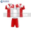 Áo bóng đá màu đỏ thiết kế đẹp tại khánh hòa MABD35