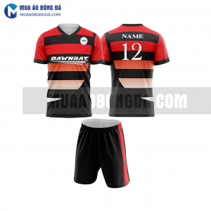 Áo bóng đá màu đỏ thiết kế đẹp tại lâm đồng MABD29