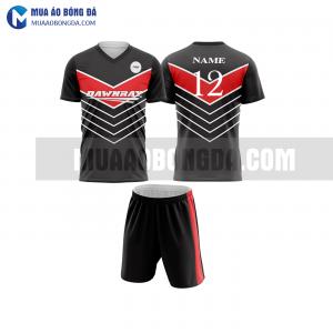 Áo bóng đá màu đỏ thiết kế đẹp tại lào cai MABD18