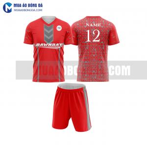 Áo bóng đá màu đỏ thiết kế đẹp tại nghệ an MABD10