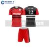 Áo bóng đá màu đỏ thiết kế đẹp tại quảng bình MABD12