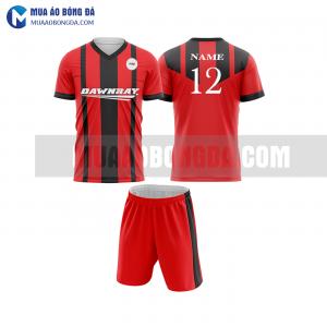 Áo bóng đá màu đỏ thiết kế đẹp tại quảng bình MABD26