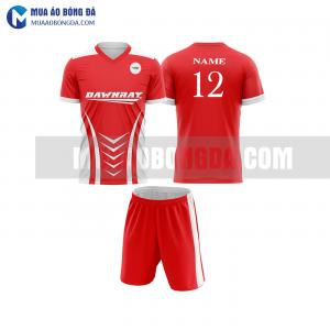 Áo bóng đá màu đỏ thiết kế đẹp tại sơn la MABD6