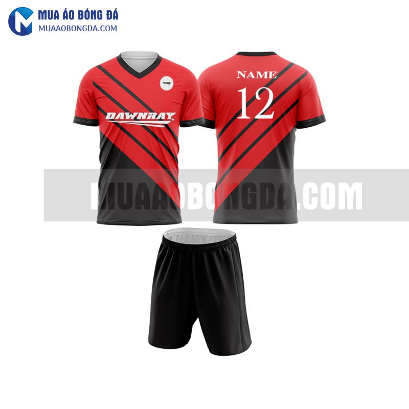 Áo bóng đá màu đỏ thiết kế đẹp tại thừa thiên huế MABD24