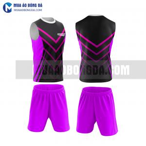 Áo bóng đá màu tím thiết kế đẹp tại vĩnh long MABD37