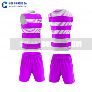 Áo bóng đá màu tím thiết kế đẹp tại vĩnh phúc MABD38