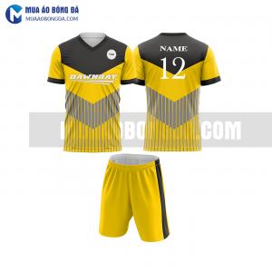 Áo bóng đá màu vàng thiết kế đẹp tại bạc liêu MABD27