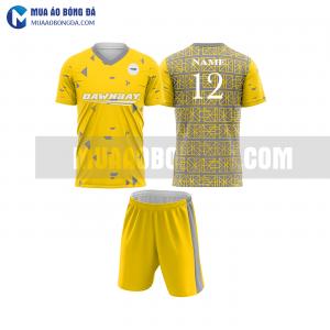 Áo bóng đá màu vàng thiết kế đẹp tại hà nội MABD11