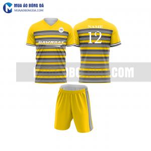 Áo bóng đá màu vàng thiết kế đẹp tại hải phòng MABD23