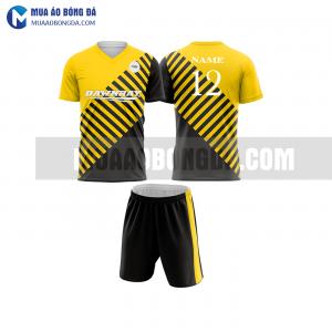 Áo bóng đá màu vàng thiết kế đẹp tại hưng yên MABD17