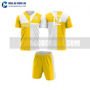 Áo bóng đá màu vàng thiết kế đẹp tại khánh hòa MABD35