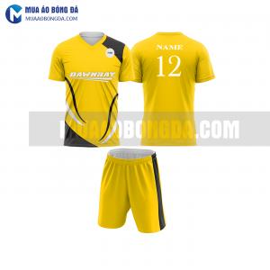 Áo bóng đá màu vàng thiết kế đẹp tại phú yên MABD15