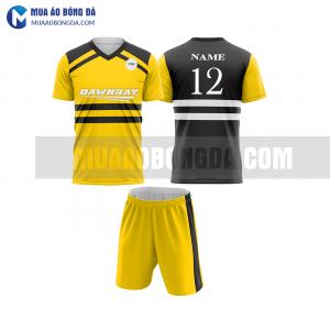 Áo bóng đá màu vàng thiết kế đẹp tại quảng bình MABD12
