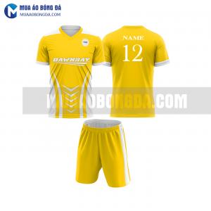 Áo bóng đá màu vàng thiết kế đẹp tại sơn la MABD6
