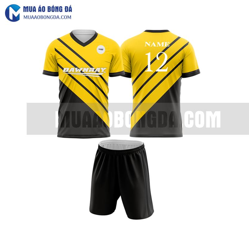 Áo bóng đá màu vàng thiết kế đẹp tại thừa thiên huế MABD24