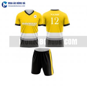 Áo bóng đá màu vàng thiết kế đẹp tại trà vinh MABD14