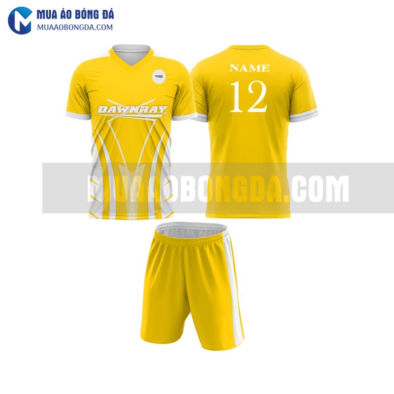 Áo bóng đá màu vàng thiết kế đẹp tại tuyên quang MABD5