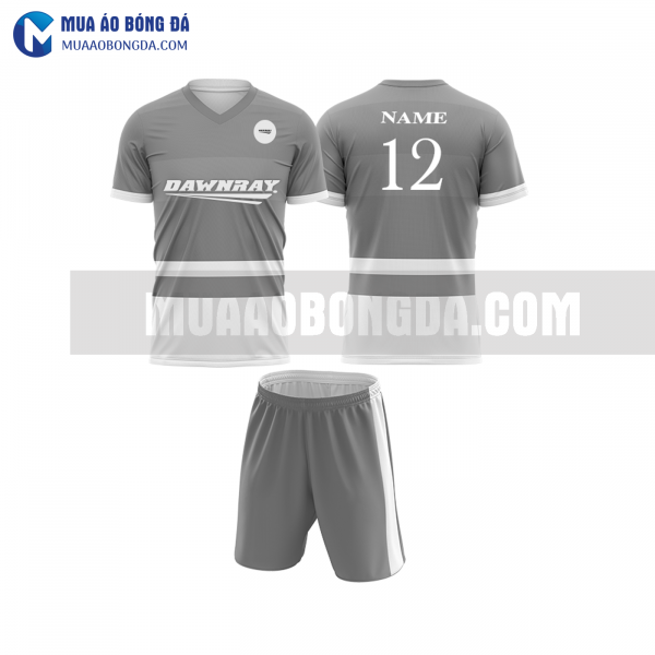 Áo bóng đá màu xám thiết kế đẹp tại hà tĩnh MABD8