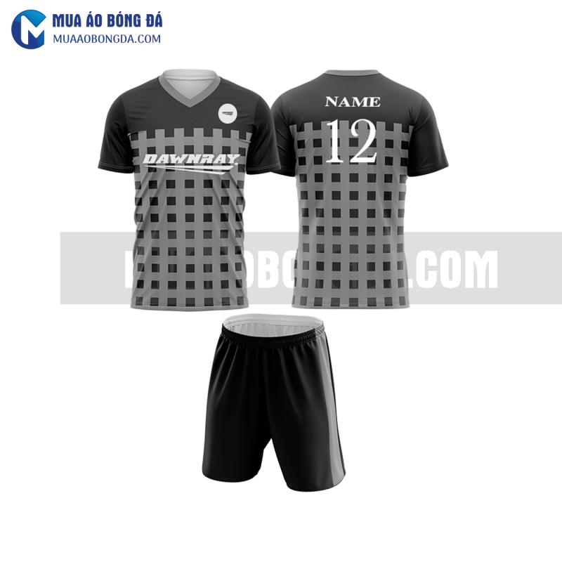 Áo bóng đá màu xám thiết kế đẹp tại hưng yên MABD22