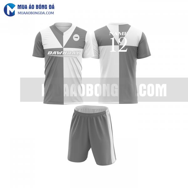 Áo bóng đá màu xám thiết kế đẹp tại khánh hòa MABD35