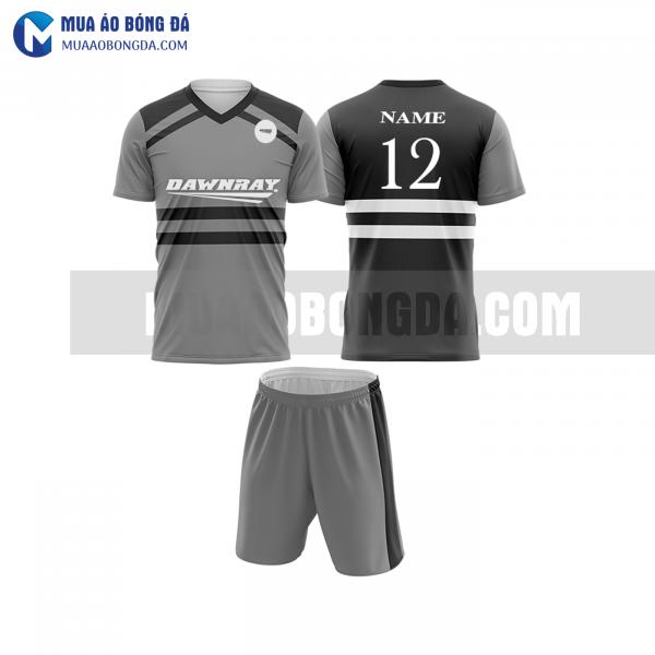 Áo bóng đá màu xám thiết kế đẹp tại quảng bình MABD12