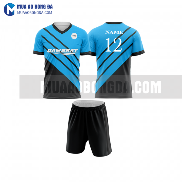 Áo bóng đá màu xanh biển thiết kế đẹp tại thừa thiên huế MABD24