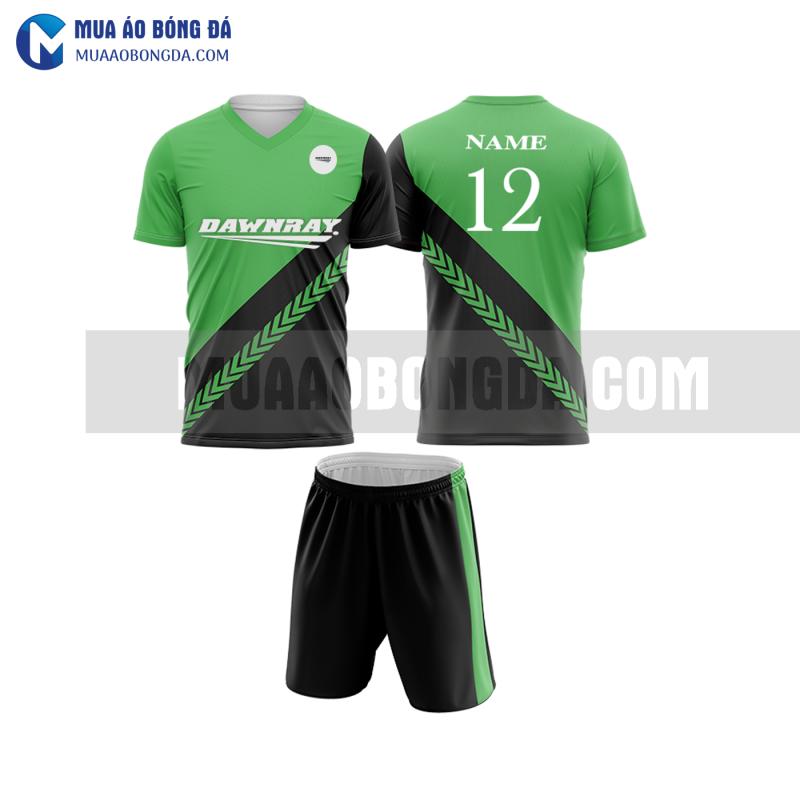 Áo bóng đá màu xanh lá thiết kế đẹp tại bắc ninh MABD7