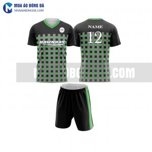 Áo bóng đá màu xanh lá thiết kế đẹp tại hưng yên MABD22