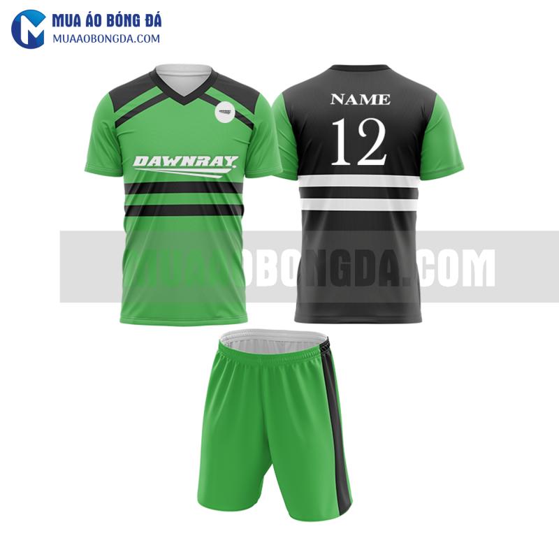 Áo bóng đá màu xanh lá thiết kế đẹp tại quảng bình MABD12