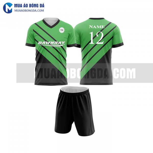Áo bóng đá màu xanh lá thiết kế đẹp tại thừa thiên huế MABD24