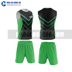 Áo bóng đá màu xanh lá thiết kế đẹp tại vĩnh long MABD37
