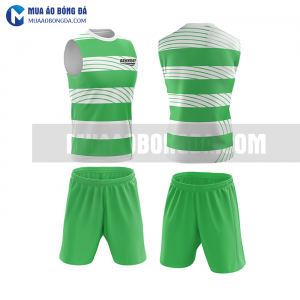 Áo bóng đá màu xanh lá thiết kế đẹp tại vĩnh phúc MABD38