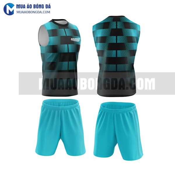 Áo bóng đá màu xanh thiết kế đẹp tại phú yên MABD40