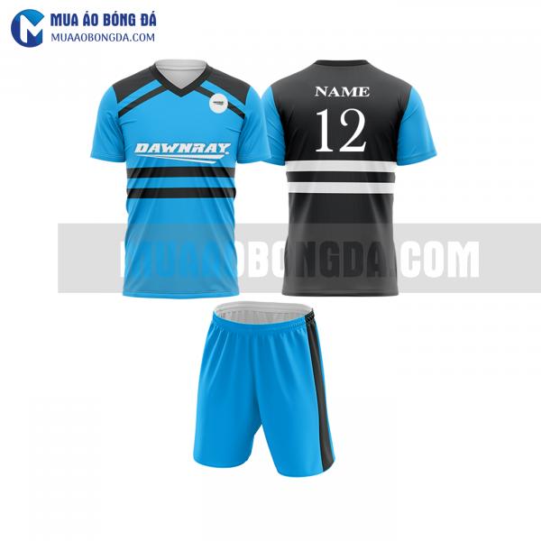 Áo bóng đá màu xanh thiết kế đẹp tại quảng bình MABD12