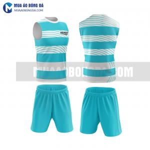 Áo bóng đá màu xanh thiết kế đẹp tại vĩnh phúc MABD38