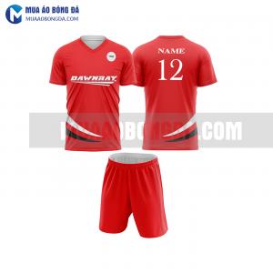 Áo bóng đá màu đỏ thiết kế đẹp tại nam định MABD16