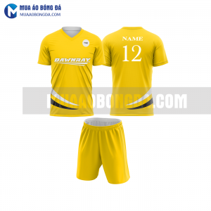 Áo bóng đámàu vàng thiết kế đẹp tại nam định MABD16