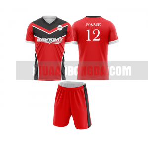 Mua áo bóng đá màu đỏ thiết kế đẹp tại hòa bình MABD
