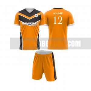 Mua áo bóng đá màu cam thiết kế đẹp tại hòa bình MABD1